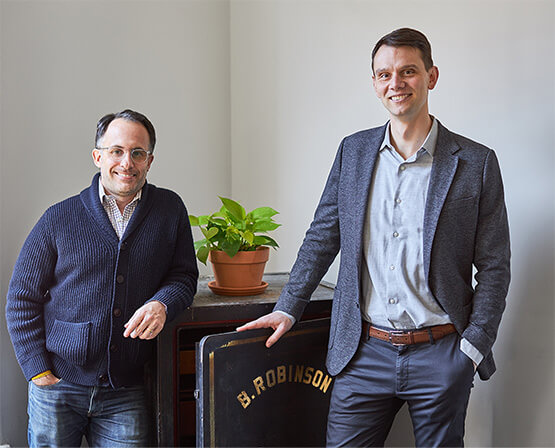 Marious Sjulsen & Charles Clinton