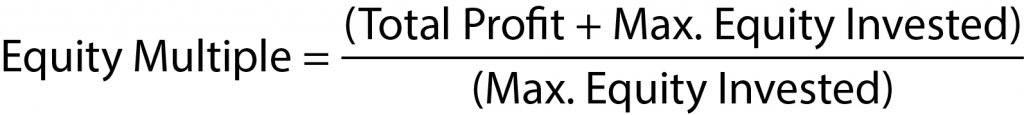 equity multiple formula