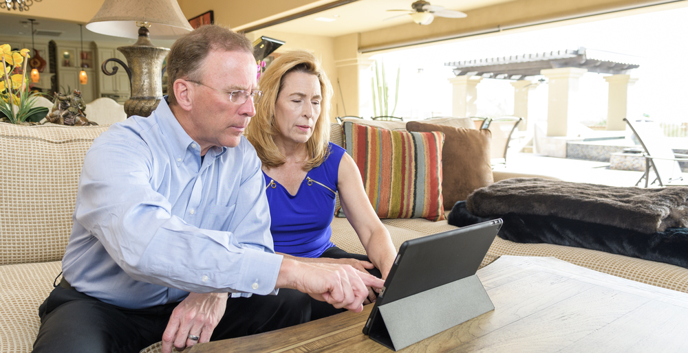 EquityMultiple investor Peter Kuhn navigates the platform.